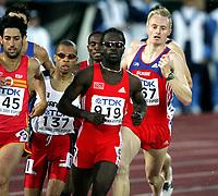Friidrett, 11. august 2005, VM Helsinki, <br /> World Championships in Athletics<br /> Andre Bucher, SUI, 800 metres