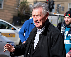 "Glasgow Film Festival, Sunday 3rd March 2019<br /> <br /> UK Premiere of ""Final Ascent""<br /> <br /> Pictured: Sir Michael Palin arrives <br /> <br /> Alex Todd 