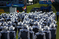 Calgary Stealers Drum Band<br /> BMO Nations Cup<br /> Spruce Meadows Masters - Calgary 2015<br /> © Hippo Foto - Dirk Caremans<br /> 12/09/15