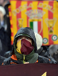 26-02-2015 NED: Europa League Feyenoord - AS Roma, Rotterdam<br /> In the photo Roma supporters