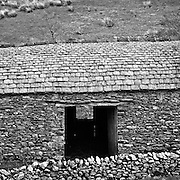 Traditional lakeland barn at Deepdale, Patterdale, Ullswater, Cumbria, UK