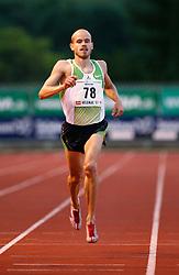 Slovenian runner Bostjan Buc in Velenje, on June 28, 2007.  (Photo by Vid Ponikvar / Sportal Images)/ Sportida)