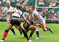 Rugby Union - 2018 / 2019 season - England Women vs. Barbarians Women<br /> <br /> Kelly Smith of England, at Twickenham.<br /> <br /> COLORSPORT/ANDREW COWIE