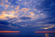 Sunrise over the Northumberland Strait