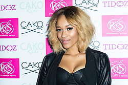 © Licensed to London News Pictures. Tamera Foster attends the CAKO & CAKO Kids press launch at Sanctum Soho Hotel in Chelsea, London, UK on 10 December 2013. Photo Credit: Raimondas Kazenas/LNP