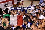 DESCRIZIONE : Campionato 2014/15 Serie A Beko Grissin Bon Reggio Emilia - Dinamo Banco di Sardegna Sassari Finale Playoff Gara7 Scudetto<br /> GIOCATORE : Commando Ultra' Dinamo<br /> CATEGORIA : Postgame Ritratto Esultanza Ultras Tifosi Spettatori Pubblico<br /> SQUADRA : Dinamo Banco di Sardegna Sassari<br /> EVENTO : LegaBasket Serie A Beko 2014/2015<br /> GARA : Grissin Bon Reggio Emilia - Dinamo Banco di Sardegna Sassari Finale Playoff Gara7 Scudetto<br /> DATA : 26/06/2015<br /> SPORT : Pallacanestro <br /> AUTORE : Agenzia Ciamillo-Castoria/L.Canu
