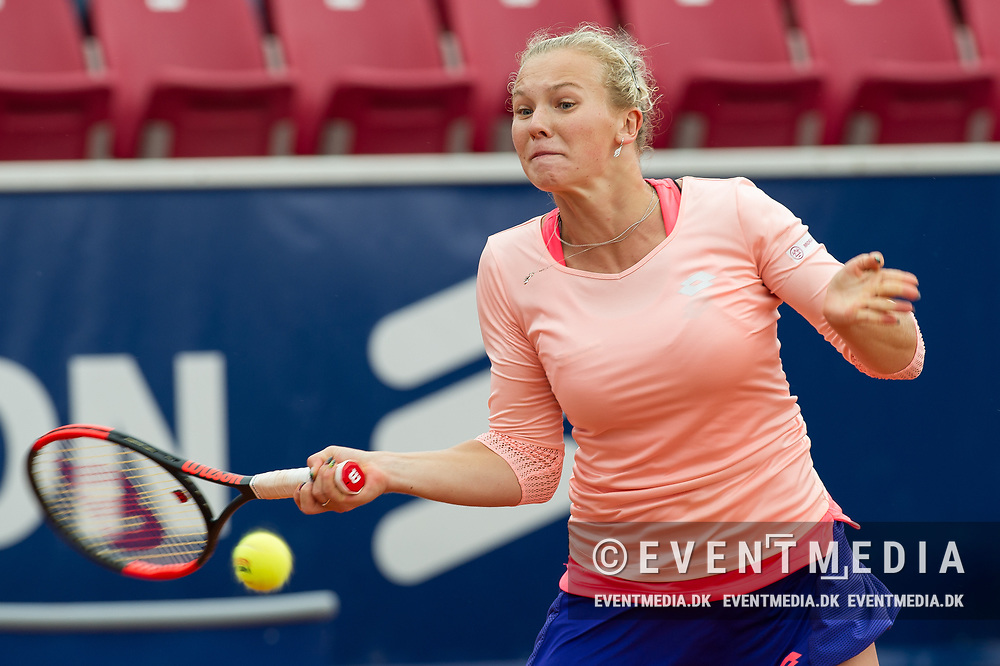 Katerina Siniakova (Czech Republic) at the 2017 WTA Ericsson Open in Båstad, Sweden, July 29, 2017. Photo Credit: Katja Boll/EVENTMEDIA.