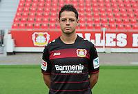 German Bundesliga - Season 2016/17 - Photocall Bayer 04 Leverkusen on 25 July 2016 in Leverkusen, Germany: Javier Hernandez (Chicharito). Photo: Guido Kirchner/dpa | usage worldwide