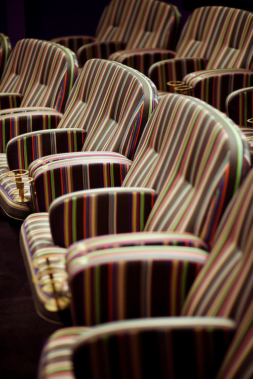 Paul Smith designed cinema screen room, Screen 4, Broadway Cinema, Nottingham