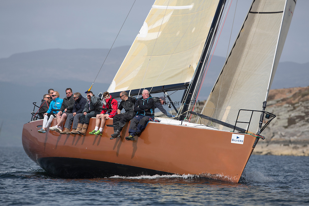 Day two of the Silvers Marine Scottish Series 2015, the largest sailing event in Scotland organised by the  Clyde Cruising Club<br /> Racing on Loch Fyne from 22rd-24th May 2015<br /> <br /> GBR447R, Local Hero, Geoff &amp; Norman Howison, RGYC, Beneteau 44.7<br /> <br /> <br /> Credit : Marc Turner / CCC<br /> For further information contact<br /> Iain Hurrel<br /> Mobile : 07766 116451<br /> Email : info@marine.blast.com<br /> <br /> For a full list of Silvers Marine Scottish Series sponsors visit http://www.clyde.org/scottish-series/sponsors/