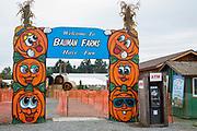 Bauman Farms välkomnar besökare, Gervais, Oregon, USA<br /> Foto: Christina Sjögren