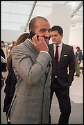 ABDULLAH AL TURKI;, Opening of Frieze art Fair. London. 14 October 2014