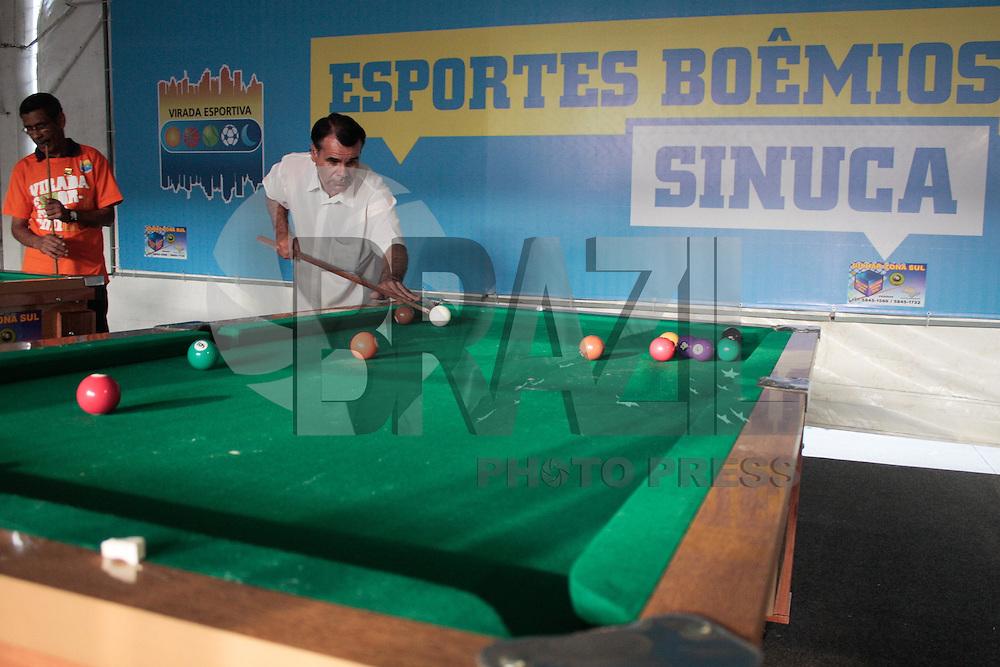 SÃO PAULO,SP,17 SETEMBRO 2011 - VIRADA ESPORTIVA- Tenda de Esportes Boêmios na 5º ediçaõ da Virada Esportiva que acontece hoje(17) e amanhã(18)  em São Paulo. LUIS H. BLANCO / NEWS FREE