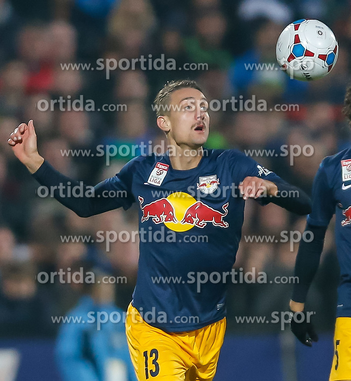 09.11.2014, Cashpoint Arena, Altach, AUT, 1. FBL, SCR Altach vs FC Red Bull Salzburg, 15. Runde, im Bild Stefan Ilsaker, (FC Red Bull Salzburg, #13)// during Austrian Football Bundesliga Match, 15th round, between SCR Altach vs FC Red Bull Salzburg at the Cashpoint Arena, Altach, Austria on 2014/11/09. EXPA Pictures © 2014, PhotoCredit: EXPA/ Peter Rinderer