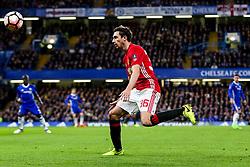 Matteo Darmian of Manchester United in action - Rogan Thomson/JMP - 13/03/2017 - FOOTBALL - Stamford Bridge - London, England - Chelsea v Manchester United - FA Cup Quarter Final..