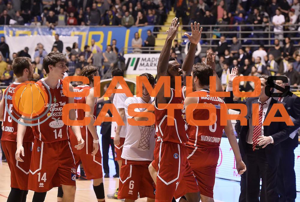 DESCRIZIONE : Torino Auxilium Manital Torino Giorgio Tesi Group Pistoia<br /> GIOCATORE : Giorgio Tesi Group Pistoia<br /> CATEGORIA : esultanza<br /> SQUADRA : Giorgio Tesi Group Pistoia<br /> EVENTO : Campionato Lega A 2015-2016<br /> GARA : Auxilium Manital Torino Giorgio Tesi Group Pistoia<br /> DATA : 07/12/2015 <br /> SPORT : Pallacanestro <br /> AUTORE : Agenzia Ciamillo-Castoria/R.Morgano<br /> Galleria : Lega Basket A 2015-2016<br /> Fotonotizia : Torino Auxilium Manital Torino Giorgio Tesi Group Pistoia<br /> Predefinita :