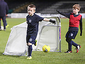 27-12-2014 - Dundee FC 6 to 8 year olds play on Dens