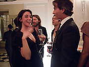 MARY MCCARTNEY; TIM JEFFERIES, Dinner to mark 50 years with Vogue for David Bailey, hosted by Alexandra Shulman. Claridge's. London. 11 May 2010 *** Local Caption *** -DO NOT ARCHIVE-&copy; Copyright Photograph by Dafydd Jones. 248 Clapham Rd. London SW9 0PZ. Tel 0207 820 0771. www.dafjones.com.<br /> MARY MCCARTNEY; TIM JEFFERIES, Dinner to mark 50 years with Vogue for David Bailey, hosted by Alexandra Shulman. Claridge's. London. 11 May 2010