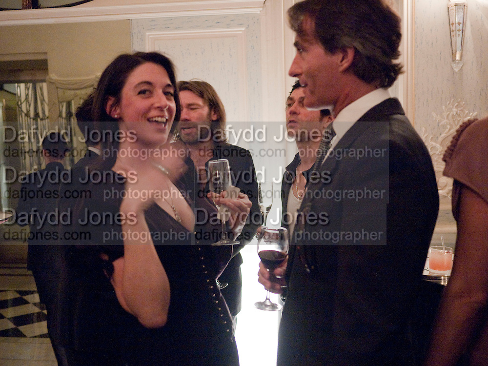 MARY MCCARTNEY; TIM JEFFERIES, Dinner to mark 50 years with Vogue for David Bailey, hosted by Alexandra Shulman. Claridge's. London. 11 May 2010 *** Local Caption *** -DO NOT ARCHIVE-© Copyright Photograph by Dafydd Jones. 248 Clapham Rd. London SW9 0PZ. Tel 0207 820 0771. www.dafjones.com.<br /> MARY MCCARTNEY; TIM JEFFERIES, Dinner to mark 50 years with Vogue for David Bailey, hosted by Alexandra Shulman. Claridge's. London. 11 May 2010