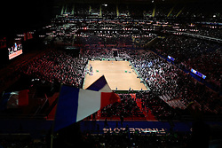 21.11.2014, Stade Pierre Mauroy, Lille, FRA, Davis Cup Finale, Frankreich vs Schweiz, im Bild Stade Pierre Mauroy // during the Davis Cup Final between France and Switzerland at the Stade Pierre Mauroy in Lille, France on 2014/11/21. EXPA Pictures © 2014, PhotoCredit: EXPA/ Freshfocus/ Daniela Frutiger<br /> <br /> *****ATTENTION - for AUT, SLO, CRO, SRB, BIH, MAZ only*****