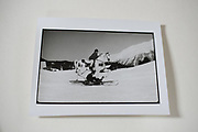 Cosmo Hulton and Wally Blacker  on the white horse, , St. Moritz 1984