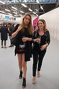 ANN SOPHIE SABOURET; DEBORAH KATTAN, Opening of Dairy with Quicksand- John M. Armleder. Dairy art Centre. ~Bloomsbury. 24 April 2013.