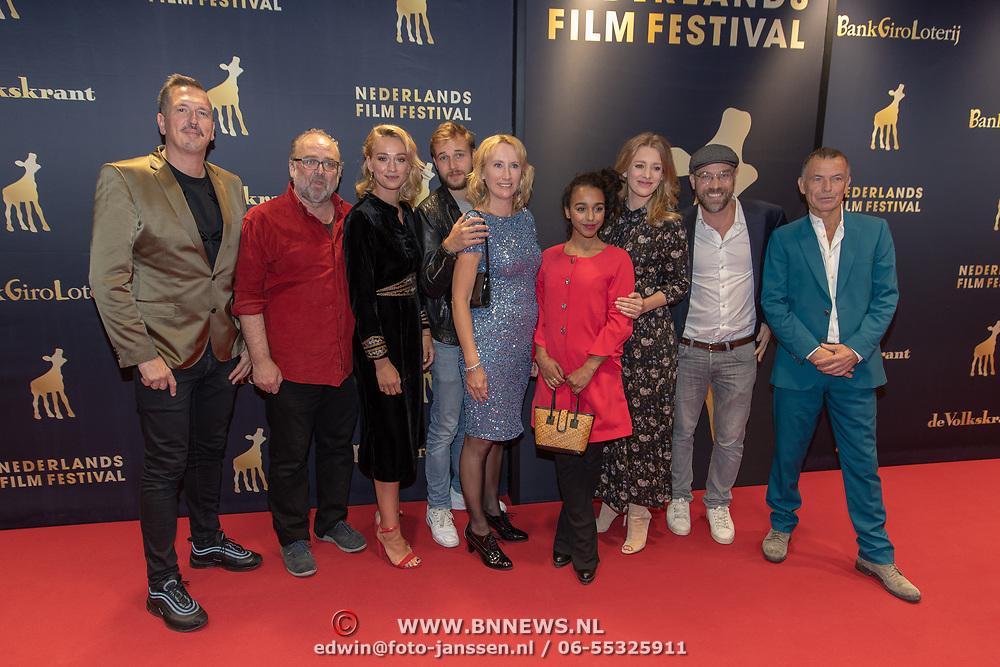 NLD/Utrecht/20181003 - NFF 2018, voorstelling Lois, castfoto