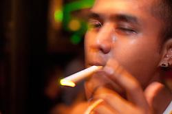 Guy smoking in Tantric