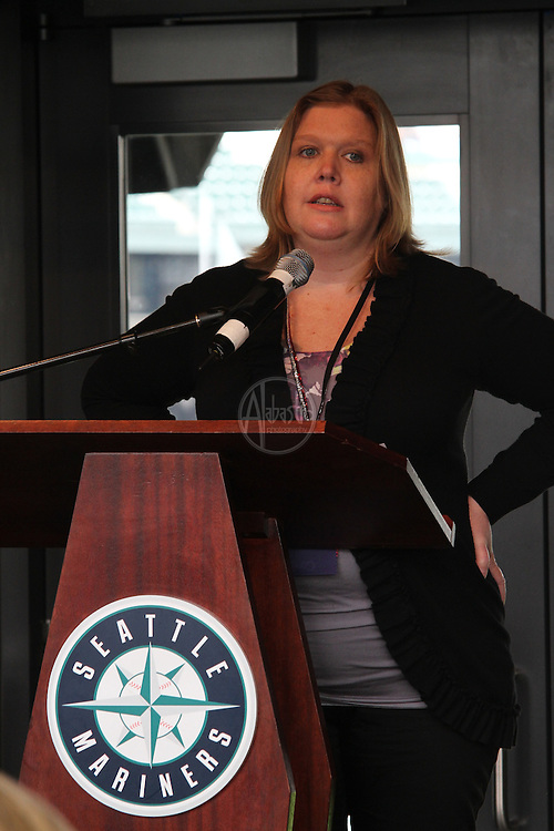 "MPI month education, March 2013.  MPIWSC Monthly Educational Meeting at Safeco Field.  ""Conversation Game Plan"" presented by Jen Mueller."
