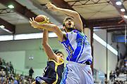 DESCRIZIONE : Campionato 2013/14 Dinamo Banco di Sardegna Sassari - Sutor Montegranaro<br /> GIOCATORE : Amedeo Tessitori<br /> CATEGORIA : Stoppata<br /> SQUADRA : Dinamo Banco di Sardegna Sassari<br /> EVENTO : LegaBasket Serie A Beko 2013/2014<br /> GARA : Dinamo Banco di Sardegna Sassari - Sutor Montegranaro<br /> DATA : 30/03/2014<br /> SPORT : Pallacanestro <br /> AUTORE : Agenzia Ciamillo-Castoria / Luigi Canu<br /> Galleria : LegaBasket Serie A Beko 2013/2014<br /> Fotonotizia : Campionato 2013/14 Dinamo Banco di Sardegna Sassari - Sutor Montegranaro<br /> Predefinita :