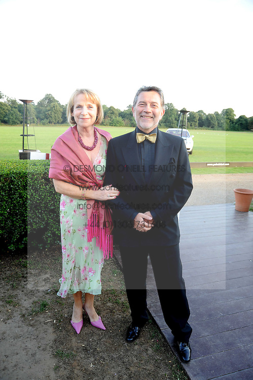JOE &amp; BERNADETTE KEEFE at the annual Ham Polo Club Summer Ball held at the club, Petersham Road, Richmond, Surrey on 25th July 2008.<br /> <br /> NON EXCLUSIVE - WORLD RIGHTS