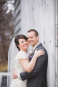 Christina & Steve's Roseville Winter Wedding