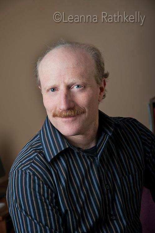 Ken Melamed, mayor of Whistler, BC, Canada, portrait in office