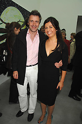 ALISON JACQUES and MIKE RUNDELL at the opening party for the new Alison Jacques Gallery, Berners Street, London followed by a party at the Sanderson Hotel, Berners Street on 3rd May 2007.<br /><br />NON EXCLUSIVE - WORLD RIGHTS