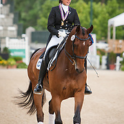 Ayden Uhlir (Region 6) and Sjapoer, Gold Medal Region 3 Individual Young Rider Dressage Champion at the 2013 North American Junior and Young Rider Championships in Lexington, Kentucky
