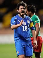 Fussball International, Italienische Nationalmannschaft  Italien - Kamerun 03.03.2010 Gennaro Ivan Gattuso (ITA)