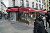 Lockdown confinement Coronavirus Paris