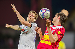 25.05.2016, Franz Fekete Stadion, Kapfenberg, AUT, 2. FBL, KSV 1919 vs SV Austria Salzburg, 36. Runde, im Bild Simon Sommer (SV Austria Salzburg), Philipp Wendler (KSV 1919) // during the Austrian Erste Liga Match, 36th Round, between KSV 1919 and SV Austria Salzburg at the Franz Fekete Stadium, Kapfenberg, Austria on 2016/05/25, EXPA Pictures © 2016, PhotoCredit: EXPA/ Dominik Angerer