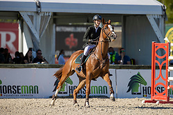 Van Gorp Marthe, BEL, Caprice De Fervac<br /> Belgisch Kampioenschap Jeugd Azelhof - Lier 2020<br /> © Hippo Foto - Dirk Caremans<br /> 30/07/2020
