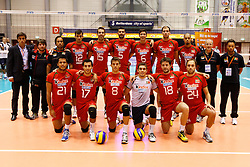 01-09-2012 VOLLEYBAL: WORLD LEAGUE 2013 QUALIFICATION NETHERLANDS - PORTUGAL : ROTTERDAM<br /> Portugal