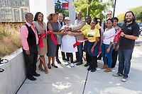"""Nella Pizza e Pasta located at 1125 E. 55th Street celebrated its grand opening Friday, September 15th, 2017 with a ribbon cutting ceremony sponsored by the Hyde Park Chamber of Commerce.<br /> <br /> Pictured (l to r) – Executive Director of the Hyde Park Chamber of Commerce, Wallace Goode, Caprice Lindsay of the Hyde Park Bank, 5th Ward Alderman, Leslie Hairston, Nella Pizza e Pasta owners, Frank and Nella Grassano, J. L. Jordan III of Publix Realty, Rodney Mallett and Jaelin Williams of Nella e Pasta, Heidi Thompson and Matthew Sitz of the Court Theatre, Tia Lawson of McCafferty Interests, Ava Salonis of the Chicago Hyde Park Village and Adam Marks of the Hyde Park Chamber of Commerce.<br /> <br /> Please 'Like' """"Spencer Bibbs Photography"""" on Facebook.<br /> <br /> Please leave a review for Spencer Bibbs Photography on Yelp.<br /> <br /> All rights to this photo are owned by Spencer Bibbs of Spencer Bibbs Photography and may only be used in any way shape or form, whole or in part with written permission by the owner of the photo, Spencer Bibbs.<br /> <br /> For all of your photography needs, please contact Spencer Bibbs at 773-895-4744. I can also be reached in the following ways:<br /> <br /> Website – www.spbdigitalconcepts.photoshelter.com<br /> <br /> Text - Text """"Spencer Bibbs"""" to 72727<br /> <br /> Email – spencerbibbsphotography@yahoo.com"""