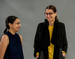Pictured: <br /> <br /> Roma Agrawal (born March, 1983) MBE is a chartered structural engineer based in London. She has worked on several major engineering projects, including the Shard. She is a Fellow of the Institution of Civil Engineers. Agrawal is also an active diversity campaigner, championing women in engineering. <br /> <br /> Anna Yudina is co-founder and editor-in-chief of MONITOR magazine. She has curated design exhibitions on Zaha Hadid and Jakob + MacFarlane and has written several books on architecture, including Furnitecture and Lumitecture for Thames & Hudson. <br /> <br /> Ger Harley   EEm 11 August 2018