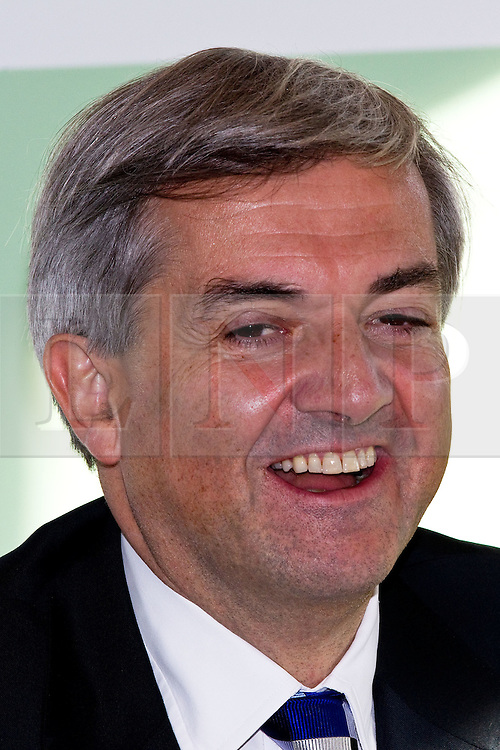 © Licensed to London News Pictures. ARCHIVE PICTURE DATED 26/10/2011. 03/02/2012: Chris Huhne today learns whether he will be charged in relation to allegations that he and his ex-wife, Vicky Pryce, conspired to pervert the course of justice in relation to a speeding incident. It has been alleged that Mr Huhne asked Miss Pryce, then his wife, to take his penalty points following the incident, which took place in March 2003. If charged then it is believed Mr Huhne will have to step down from his cabinet post. Photo credit : Joel Goodman/LNP