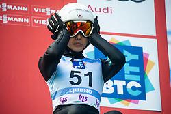 MARUYAMA Nozomi (JPN) during practice round on Day 1 of FIS Ski Jumping World Cup Ladies Ljubno 2020, on February 22th, 2020 in Ljubno ob Savinji, Ljubno ob Savinji, Slovenia. Photo by Matic Ritonja / Sportida