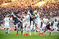 Action - 25.04.2015 - Bordeaux / Metz - 34eme journee de Ligue 1<br />Photo : Caroline Blumberg / Icon Sport