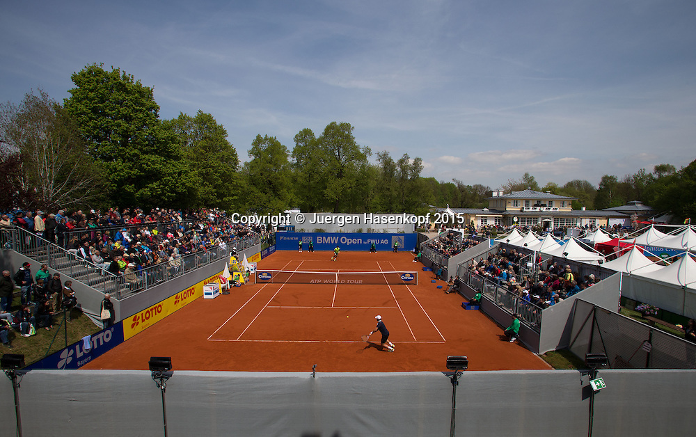 BMW Open<br /> <br /> Tennis - BMW Open - ATP -   - Muenchen - Bayern - Germany  - 29 April 2015. <br /> &copy; Juergen Hasenkopf