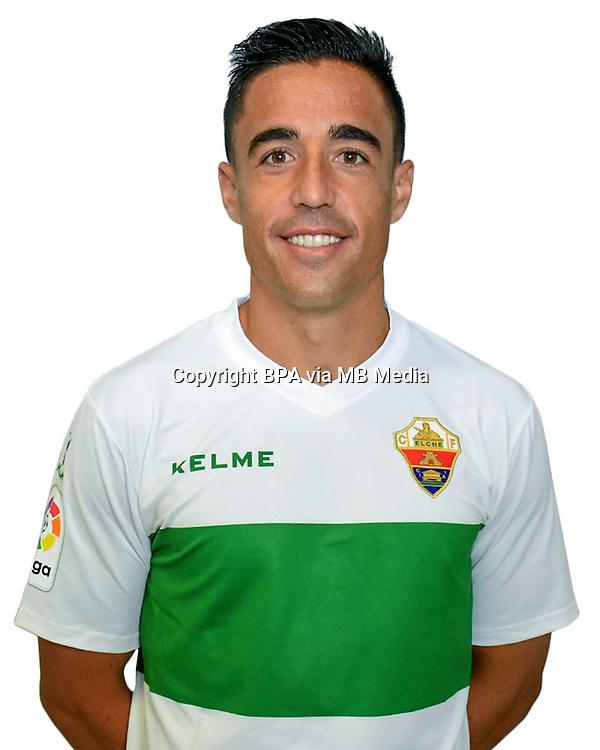 Spain - La Liga B 123 _ 2016-2017 / <br /> ( Elche C.F. ) - <br /> Pedro Antonio Sanchez Monino &quot; Pedro Sanchez &quot;
