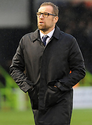 Crewe Alexandra manager David Artell looks on -Mandatory by-line: Nizaam Jones/JMP - 18/11/2017 - FOOTBALL - New Lawn Stadium - Nailsworth, England - Forest Green Rovers v Crewe Alexandre-Sky Bet League Two