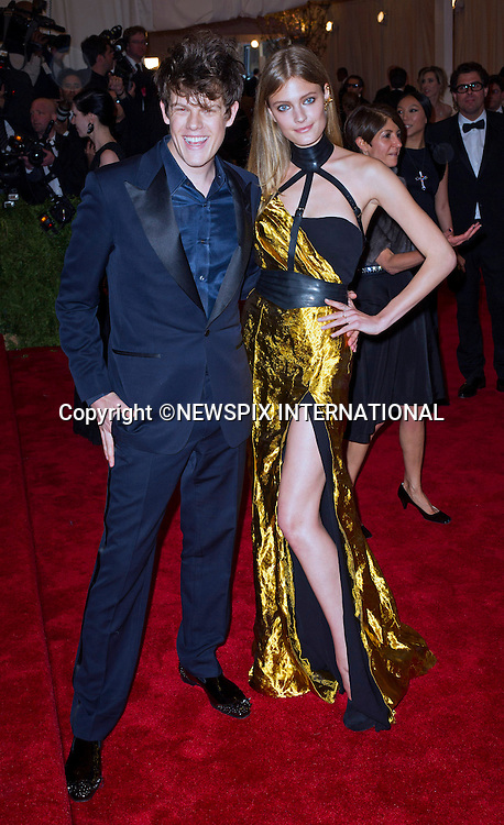 """.attends the Costume Institute Gala at the Metropolitan Museum of Art, New York.The event is considered the Oscars of the Fashion world_06/05/2013.Mandatory credit photo:©Dias/NEWSPIX INTERNATIONAL..**ALL FEES PAYABLE TO: """"NEWSPIX INTERNATIONAL""""**..PHOTO CREDIT MANDATORY!!: NEWSPIX INTERNATIONAL(Failure to credit will incur a surcharge of 100% of reproduction fees)..IMMEDIATE CONFIRMATION OF USAGE REQUIRED:.Newspix International, 31 Chinnery Hill, Bishop's Stortford, ENGLAND CM23 3PS.Tel:+441279 324672  ; Fax: +441279656877.Mobile:  0777568 1153.e-mail: info@newspixinternational.co.uk"""