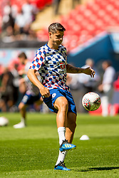 August 5, 2018 - Alvaro Morata of Chelsea during the 2018 FA Community Shield match between Chelsea and Manchester City at Wembley Stadium, London, England on 5 August 2018. Photo by Salvio Calabrese. (Credit Image: © AFP7 via ZUMA Wire)